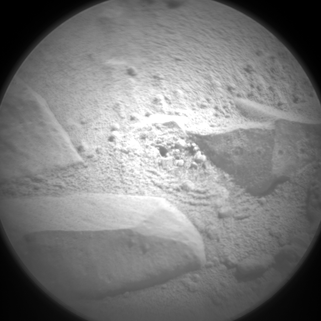 Nasa's Mars rover Curiosity acquired this image using its Chemistry & Camera (ChemCam) on Sol 491, at drive 408, site number 24