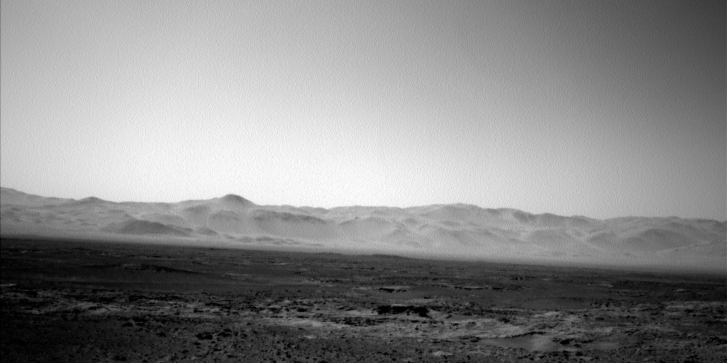 NASA's Mars rover Curiosity acquired this image using its Left Navigation Camera (Navcams) on Sol 491