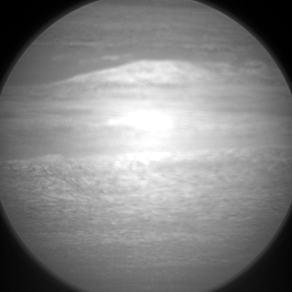 NASA's Mars rover Curiosity acquired this image using its Chemistry & Camera (ChemCam) on Sol 492