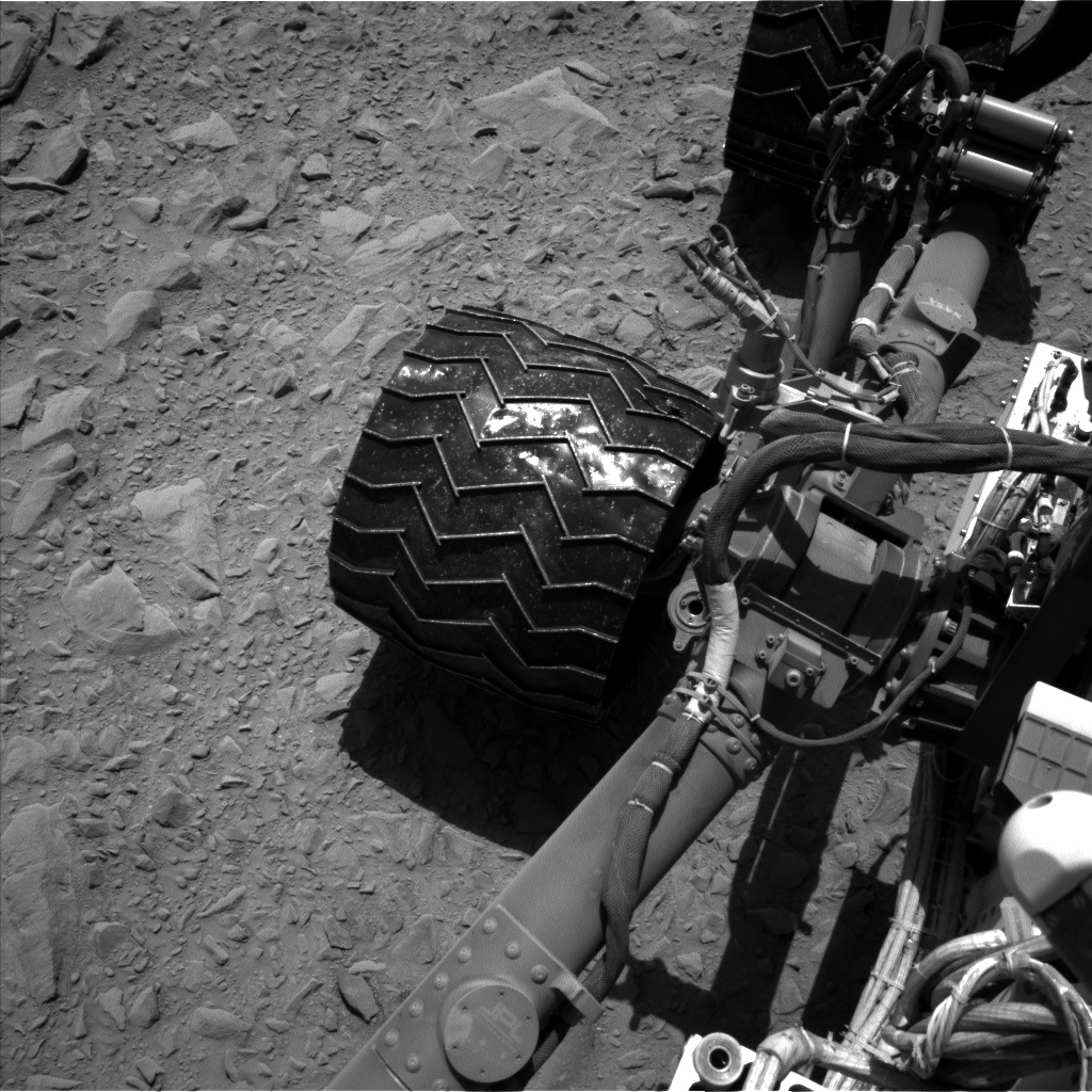 Nasa's Mars rover Curiosity acquired this image using its Left Navigation Camera on Sol 494, at drive 468, site number 24