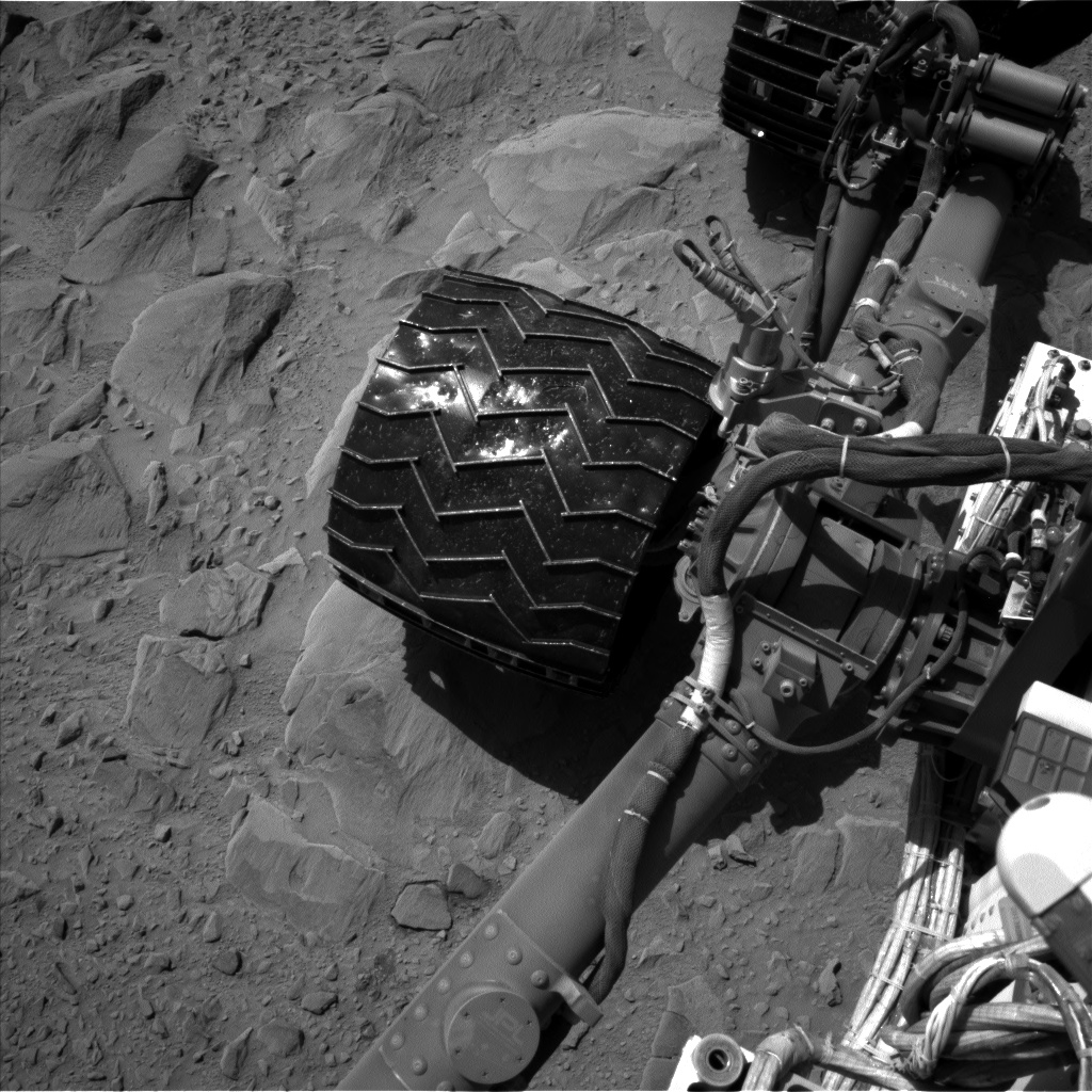 Nasa's Mars rover Curiosity acquired this image using its Left Navigation Camera on Sol 494, at drive 528, site number 24