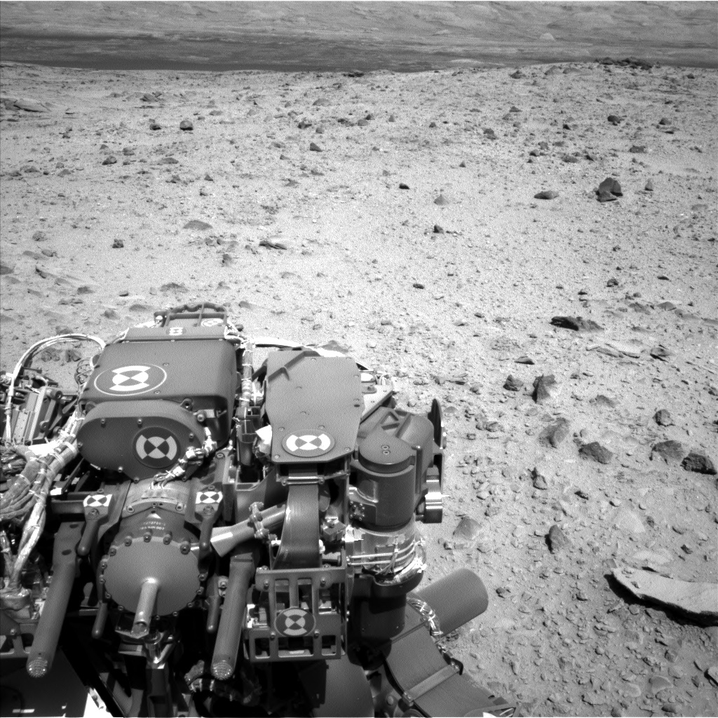 Nasa's Mars rover Curiosity acquired this image using its Left Navigation Camera on Sol 494, at drive 0, site number 25