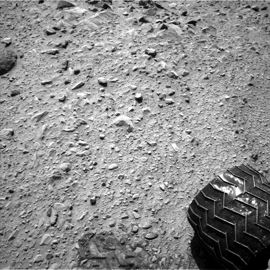 NASA's Mars rover Curiosity acquired this image using its Left Navigation Camera (Navcams) on Sol 494