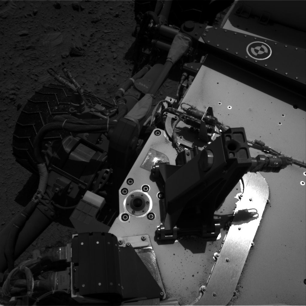 Nasa's Mars rover Curiosity acquired this image using its Right Navigation Camera on Sol 494, at drive 426, site number 24