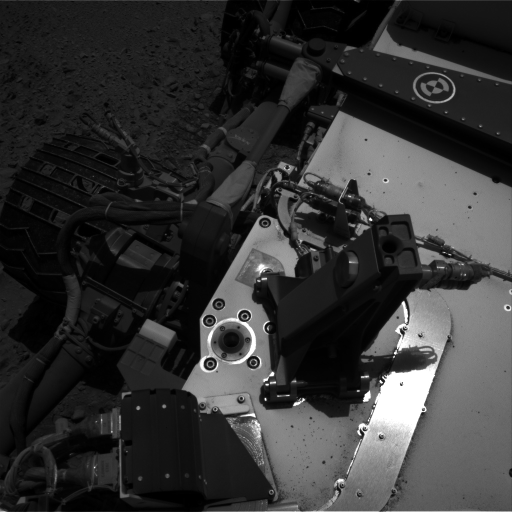 Nasa's Mars rover Curiosity acquired this image using its Right Navigation Camera on Sol 494, at drive 438, site number 24