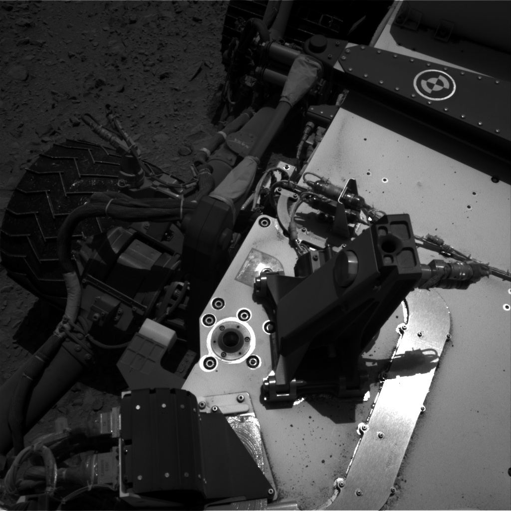 Nasa's Mars rover Curiosity acquired this image using its Right Navigation Camera on Sol 494, at drive 456, site number 24