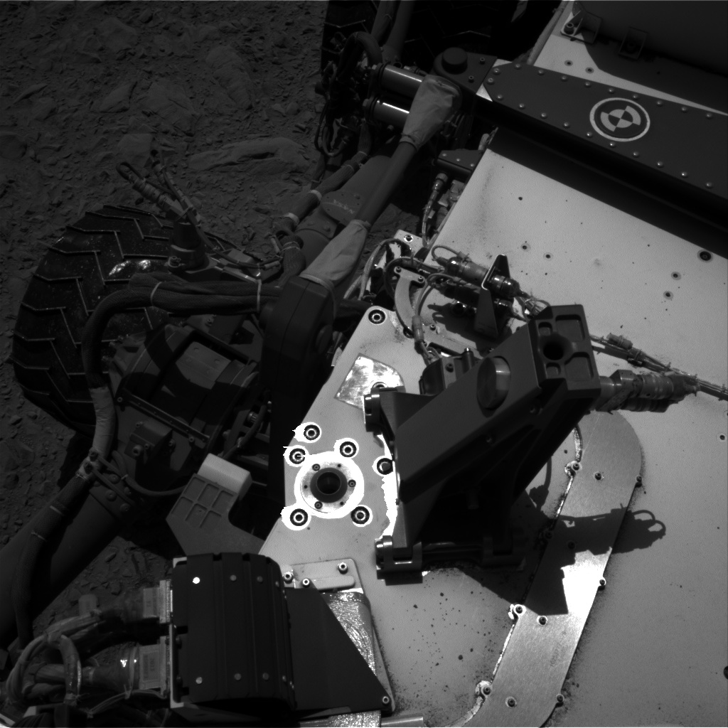 Nasa's Mars rover Curiosity acquired this image using its Right Navigation Camera on Sol 494, at drive 480, site number 24