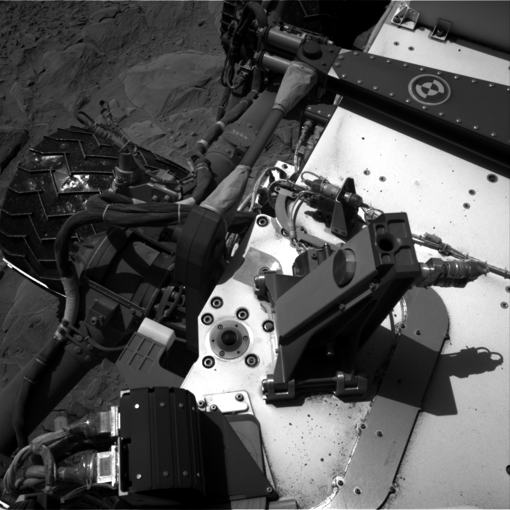 Nasa's Mars rover Curiosity acquired this image using its Right Navigation Camera on Sol 494, at drive 528, site number 24