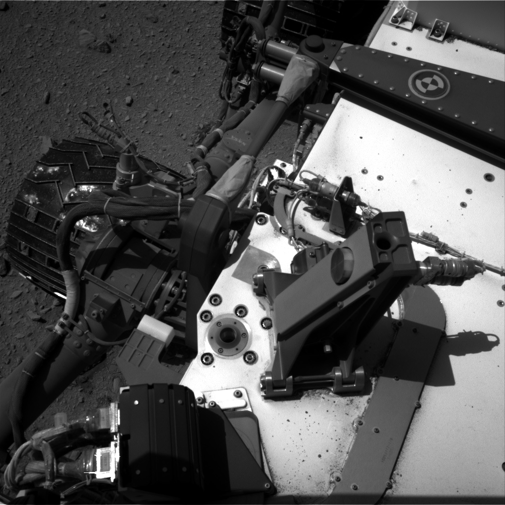 Nasa's Mars rover Curiosity acquired this image using its Right Navigation Camera on Sol 494, at drive 552, site number 24
