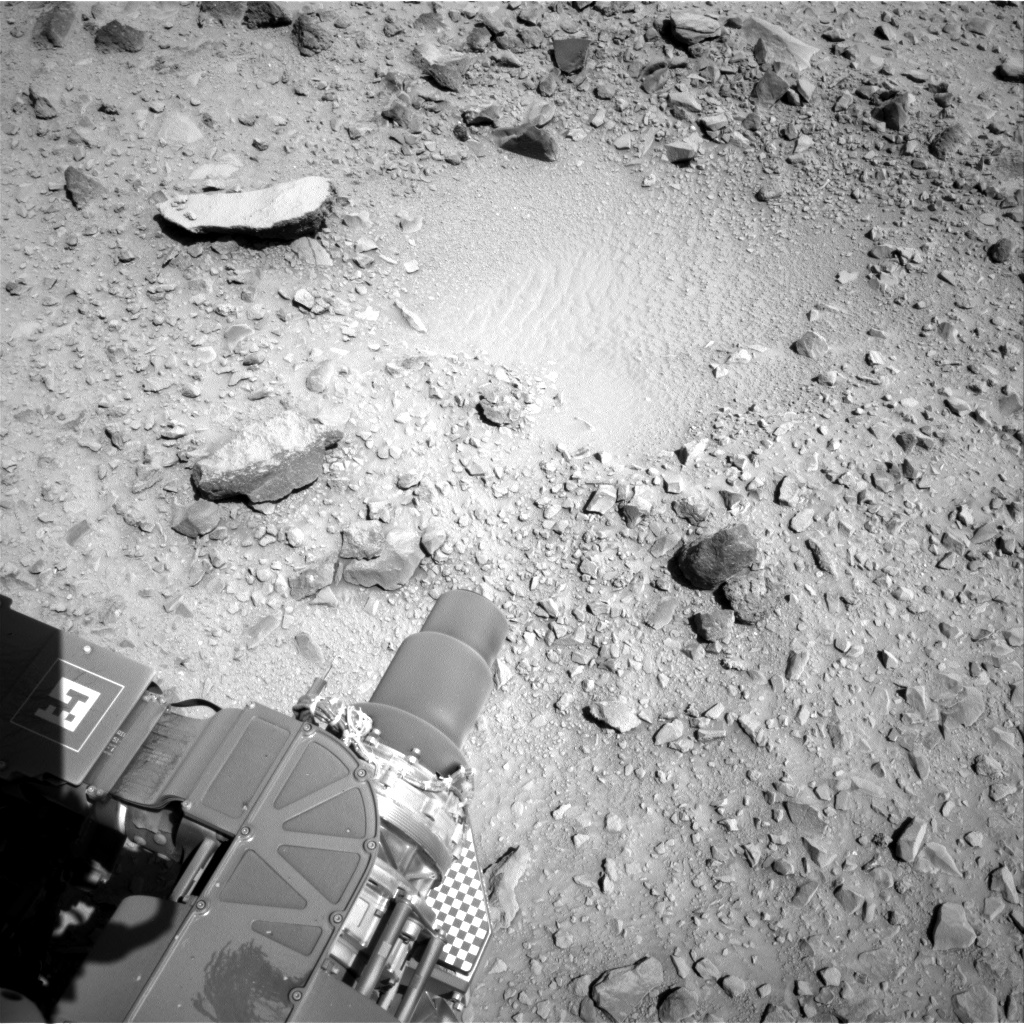 Nasa's Mars rover Curiosity acquired this image using its Right Navigation Camera on Sol 494, at drive 0, site number 25
