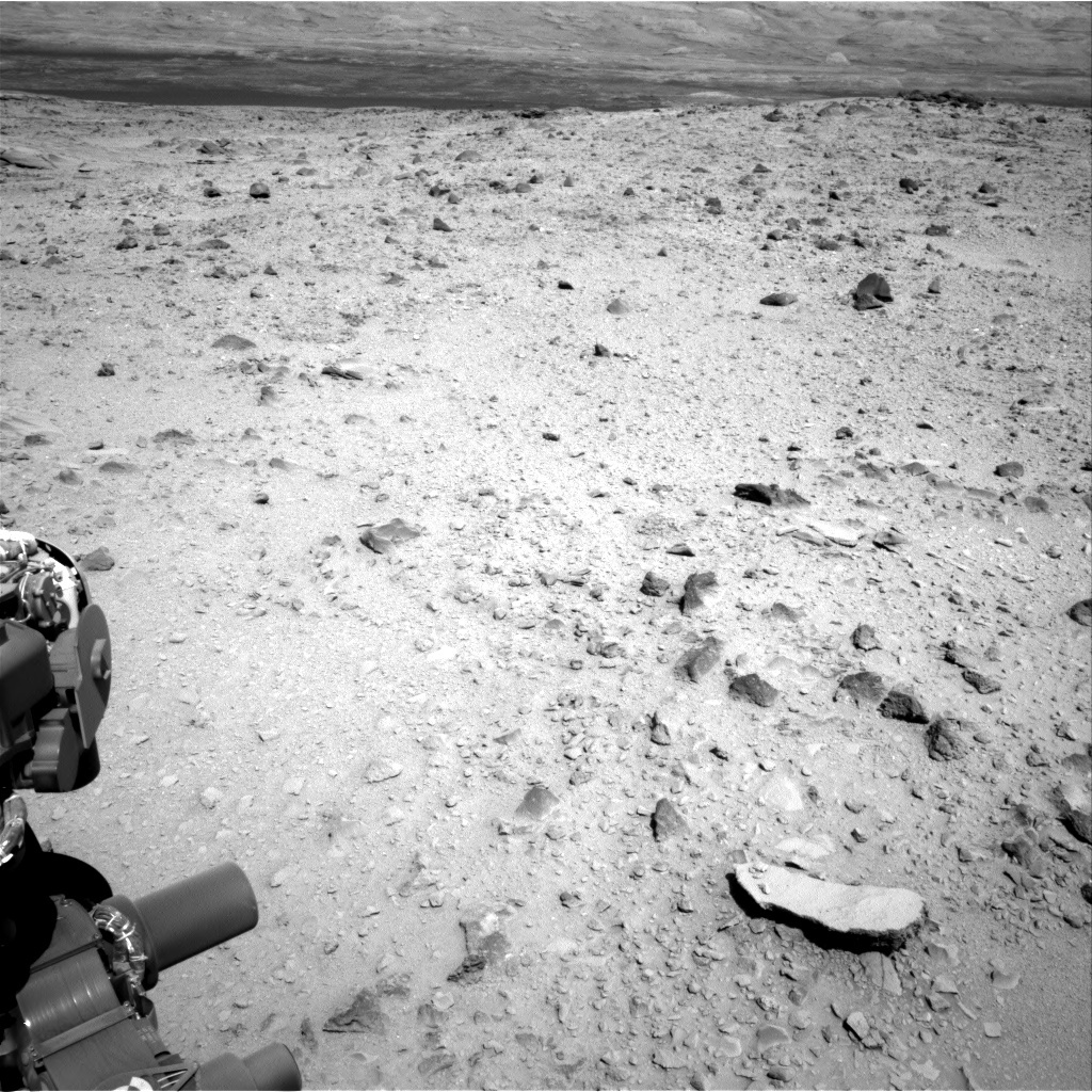 NASA's Mars rover Curiosity acquired this image using its Right Navigation Cameras (Navcams) on Sol 494