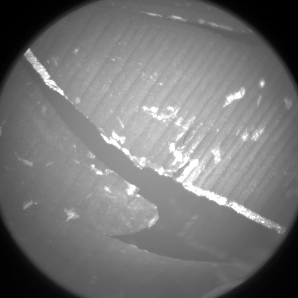 NASA's Mars rover Curiosity acquired this image using its Chemistry & Camera (ChemCam) on Sol 502