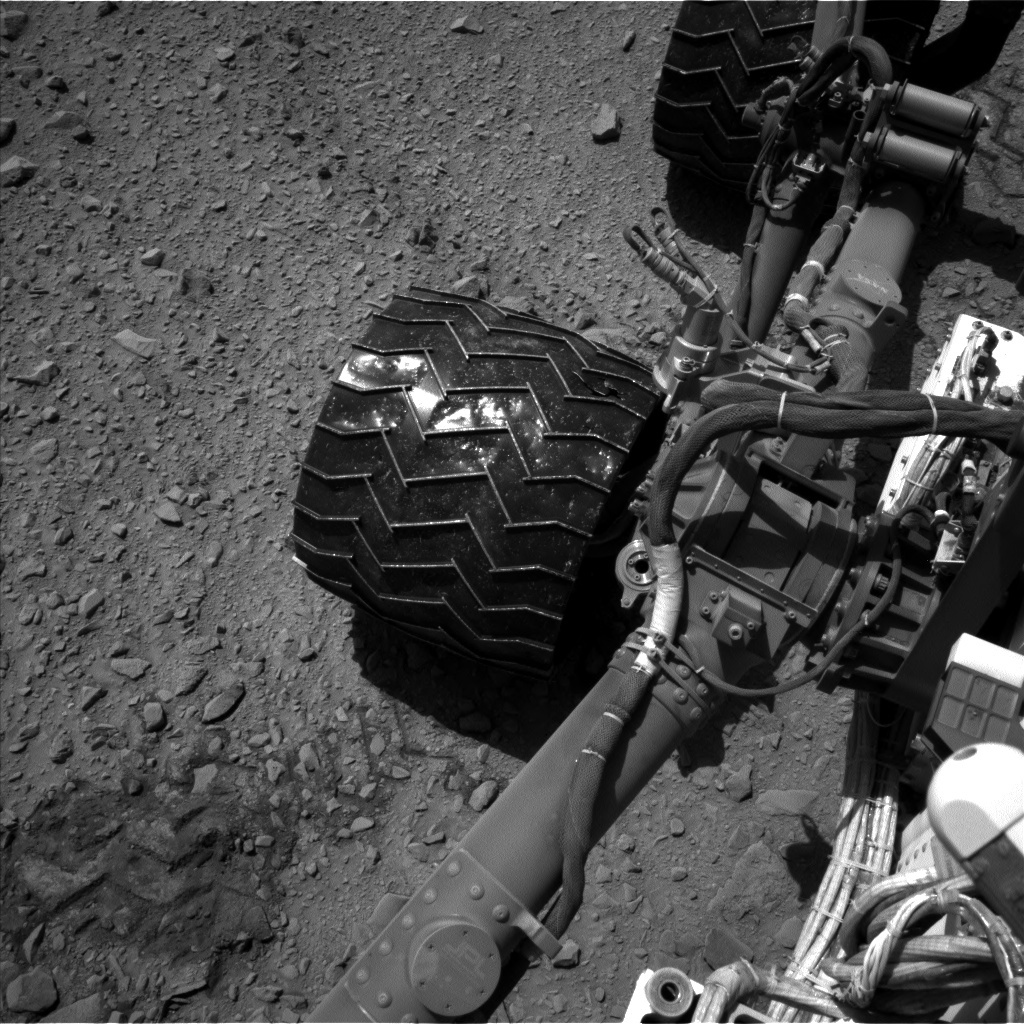 NASA's Mars rover Curiosity acquired this image using its Left Navigation Camera (Navcams) on Sol 502