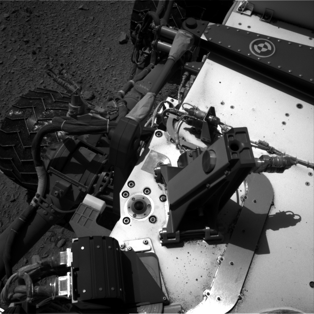 NASA's Mars rover Curiosity acquired this image using its Right Navigation Cameras (Navcams) on Sol 502