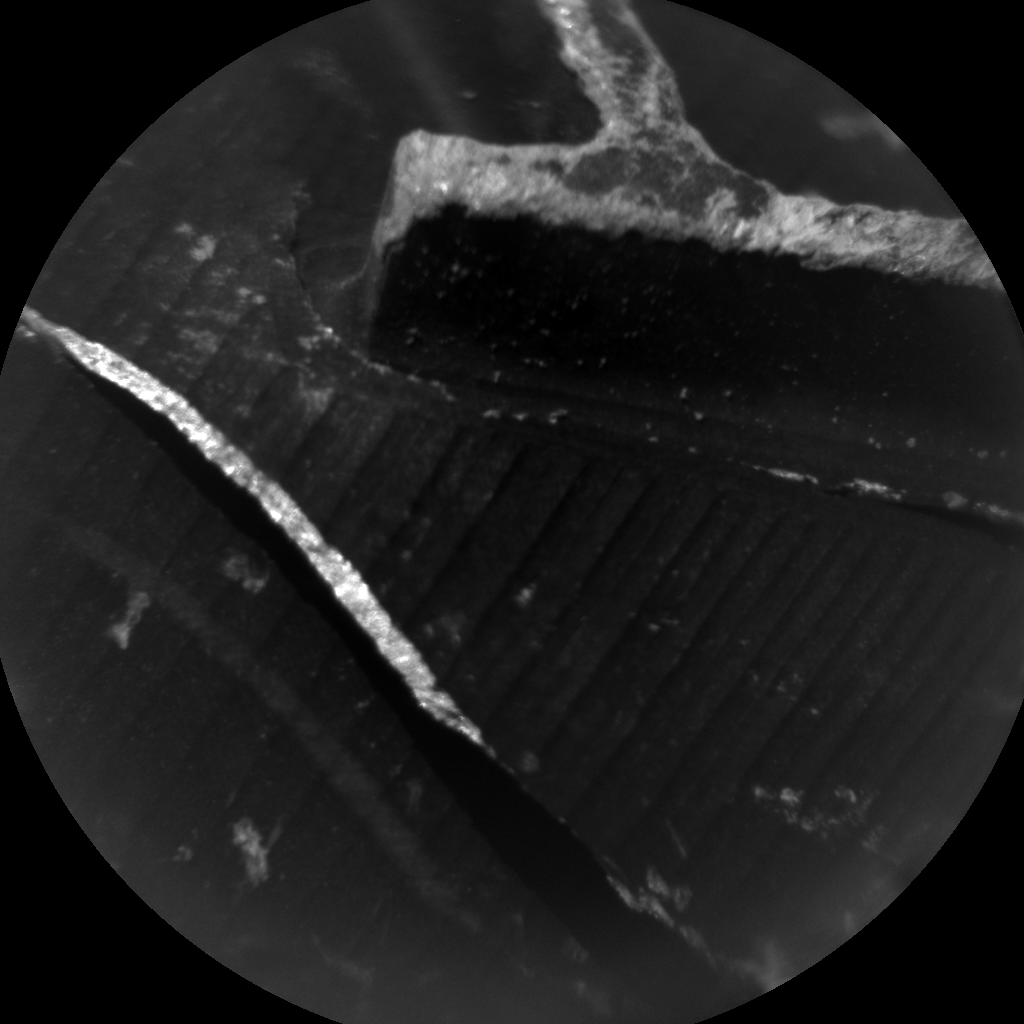 Nasa's Mars rover Curiosity acquired this image using its Chemistry & Camera (ChemCam) on Sol 502, at drive 0, site number 25