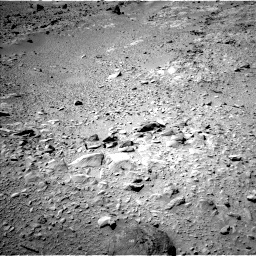 Nasa's Mars rover Curiosity acquired this image using its Left Navigation Camera on Sol 504, at drive 24, site number 25