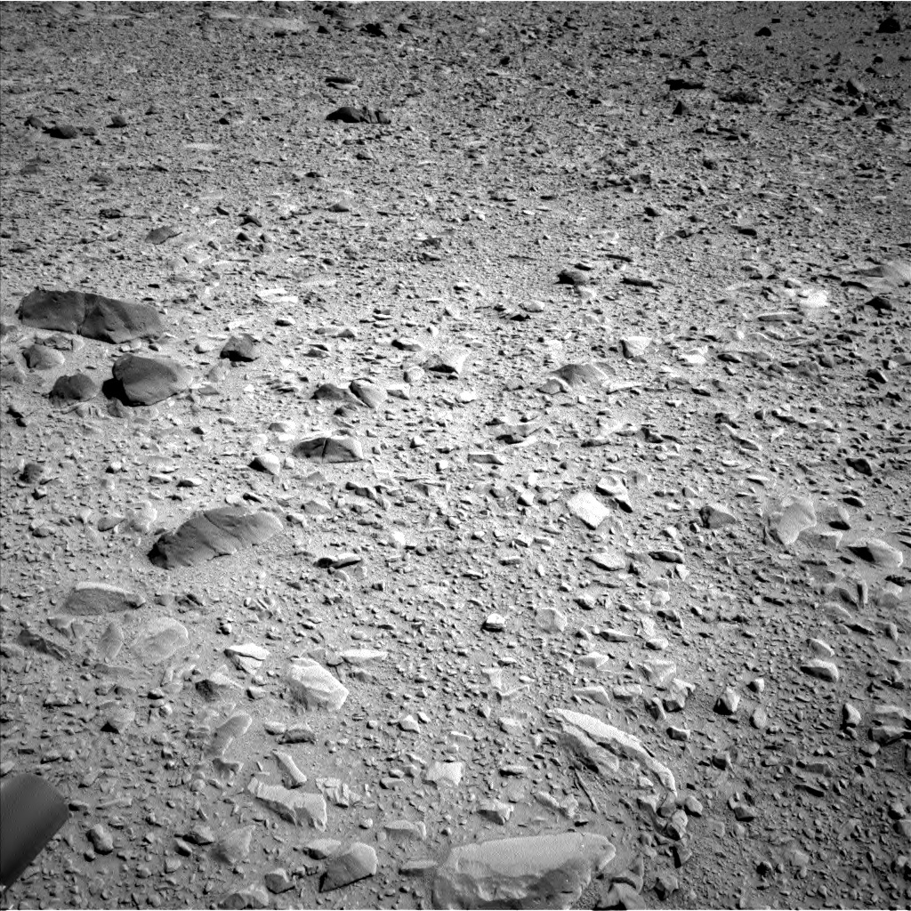 NASA's Mars rover Curiosity acquired this image using its Left Navigation Camera (Navcams) on Sol 504