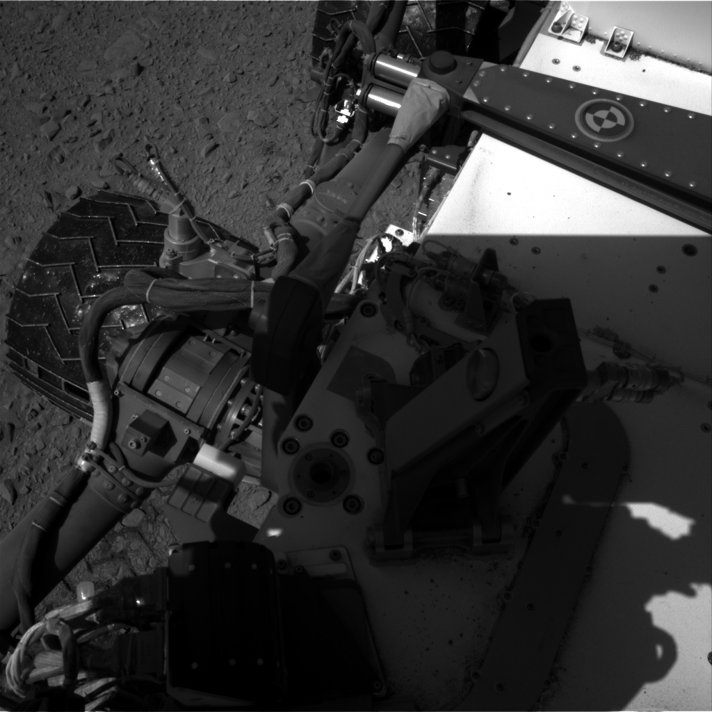 Nasa's Mars rover Curiosity acquired this image using its Right Navigation Camera on Sol 504, at drive 66, site number 25
