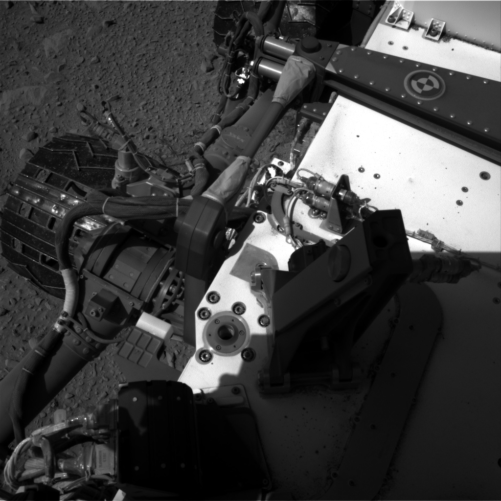 Nasa's Mars rover Curiosity acquired this image using its Right Navigation Camera on Sol 504, at drive 90, site number 25
