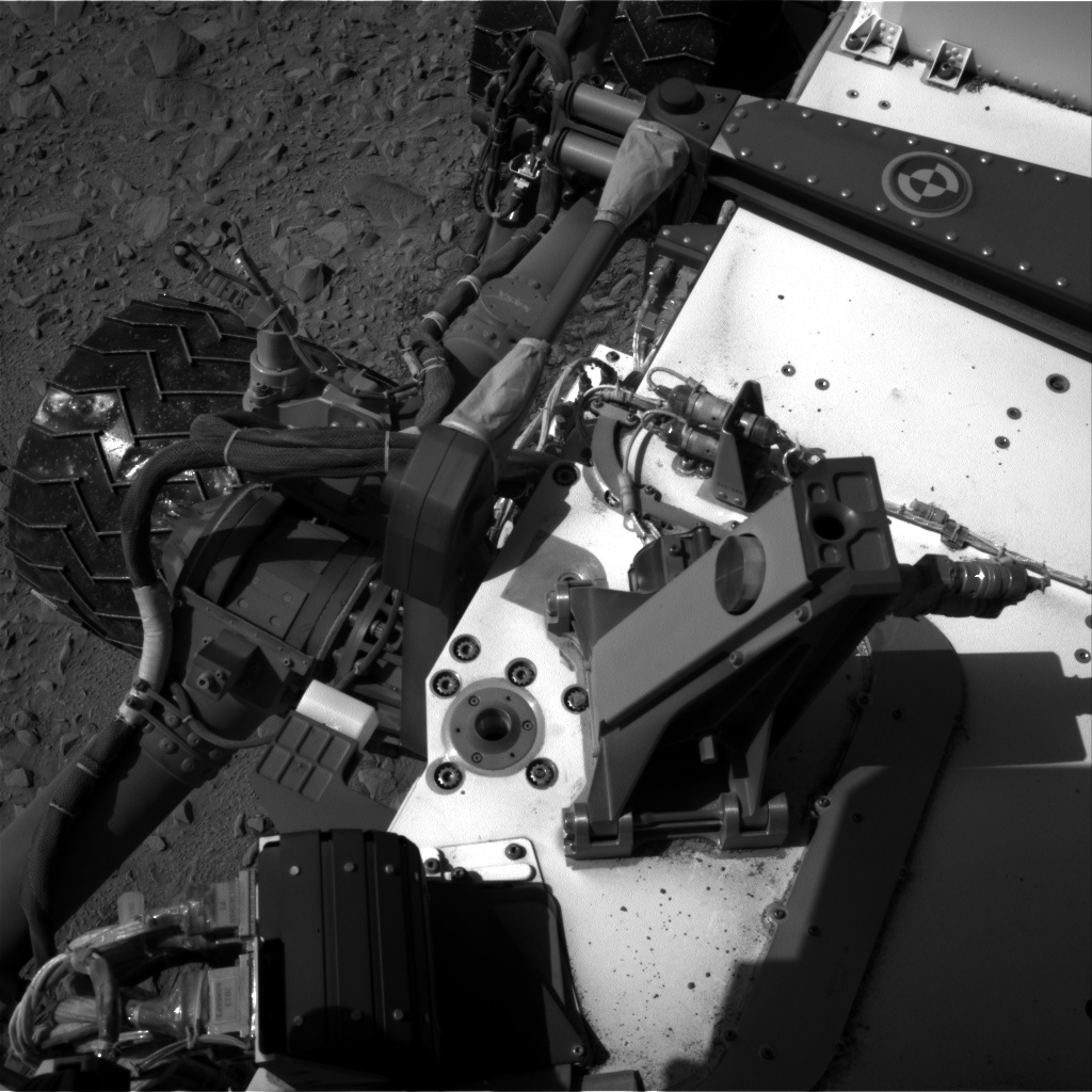 Nasa's Mars rover Curiosity acquired this image using its Right Navigation Camera on Sol 504, at drive 144, site number 25