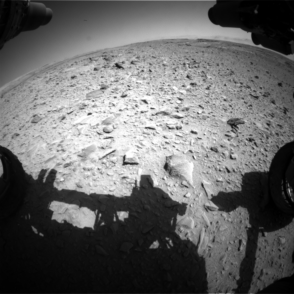 Nasa's Mars rover Curiosity acquired this image using its Front Hazard Avoidance Camera (Front Hazcam) on Sol 506, at drive 178, site number 25