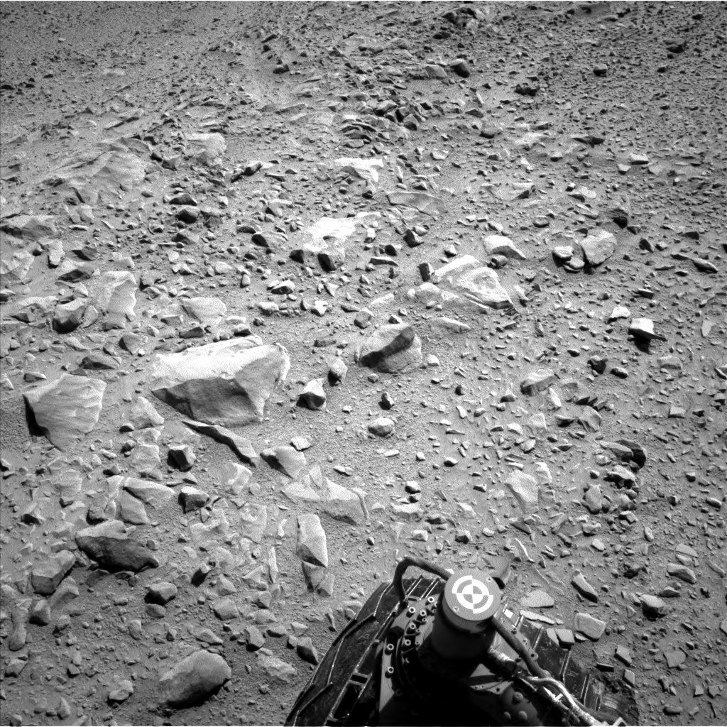 Nasa's Mars rover Curiosity acquired this image using its Left Navigation Camera on Sol 506, at drive 242, site number 25