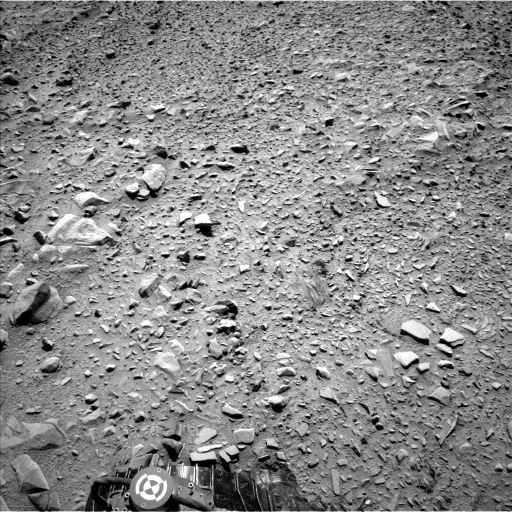 NASA's Mars rover Curiosity acquired this image using its Left Navigation Camera (Navcams) on Sol 506