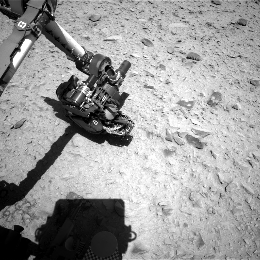 Nasa's Mars rover Curiosity acquired this image using its Right Navigation Camera on Sol 506, at drive 154, site number 25