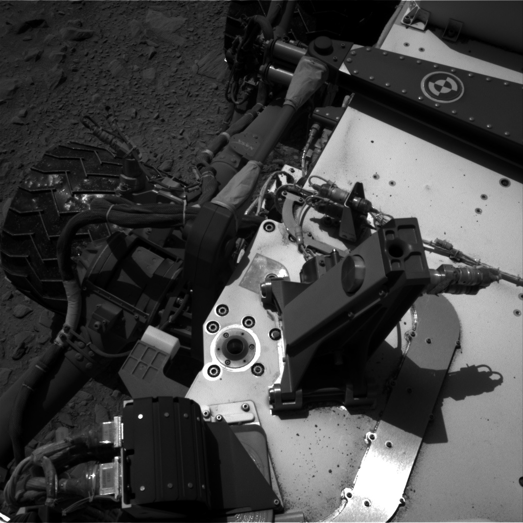 Nasa's Mars rover Curiosity acquired this image using its Right Navigation Camera on Sol 506, at drive 160, site number 25
