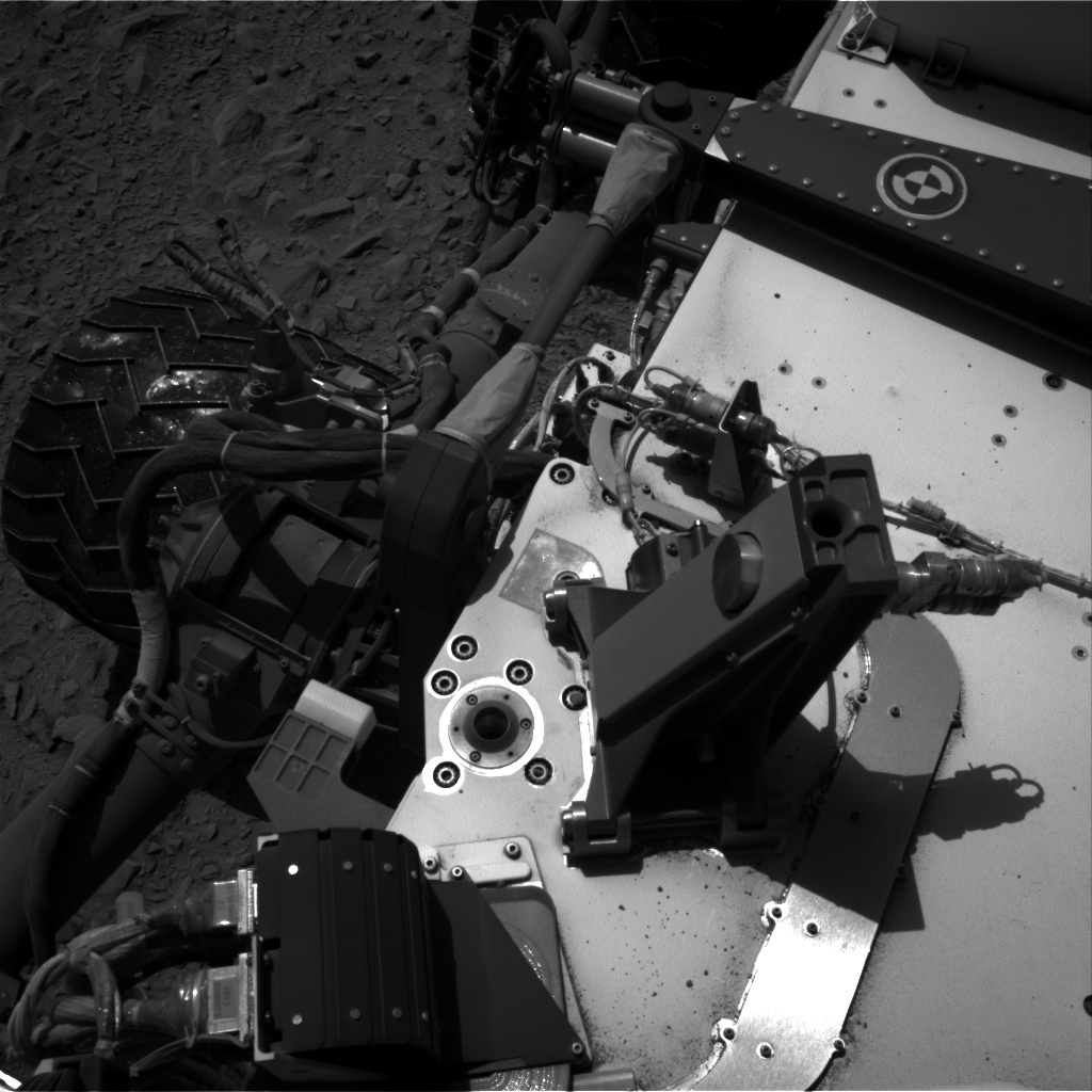 NASA's Mars rover Curiosity acquired this image using its Right Navigation Cameras (Navcams) on Sol 506