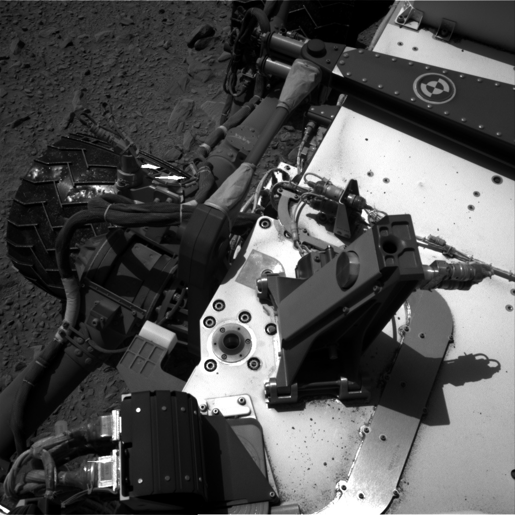 Nasa's Mars rover Curiosity acquired this image using its Right Navigation Camera on Sol 506, at drive 172, site number 25