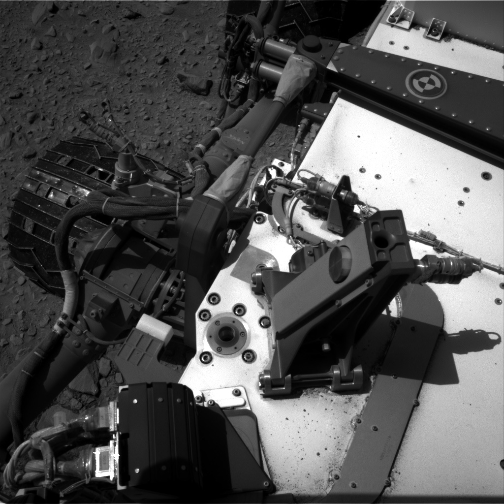 Nasa's Mars rover Curiosity acquired this image using its Right Navigation Camera on Sol 506, at drive 184, site number 25