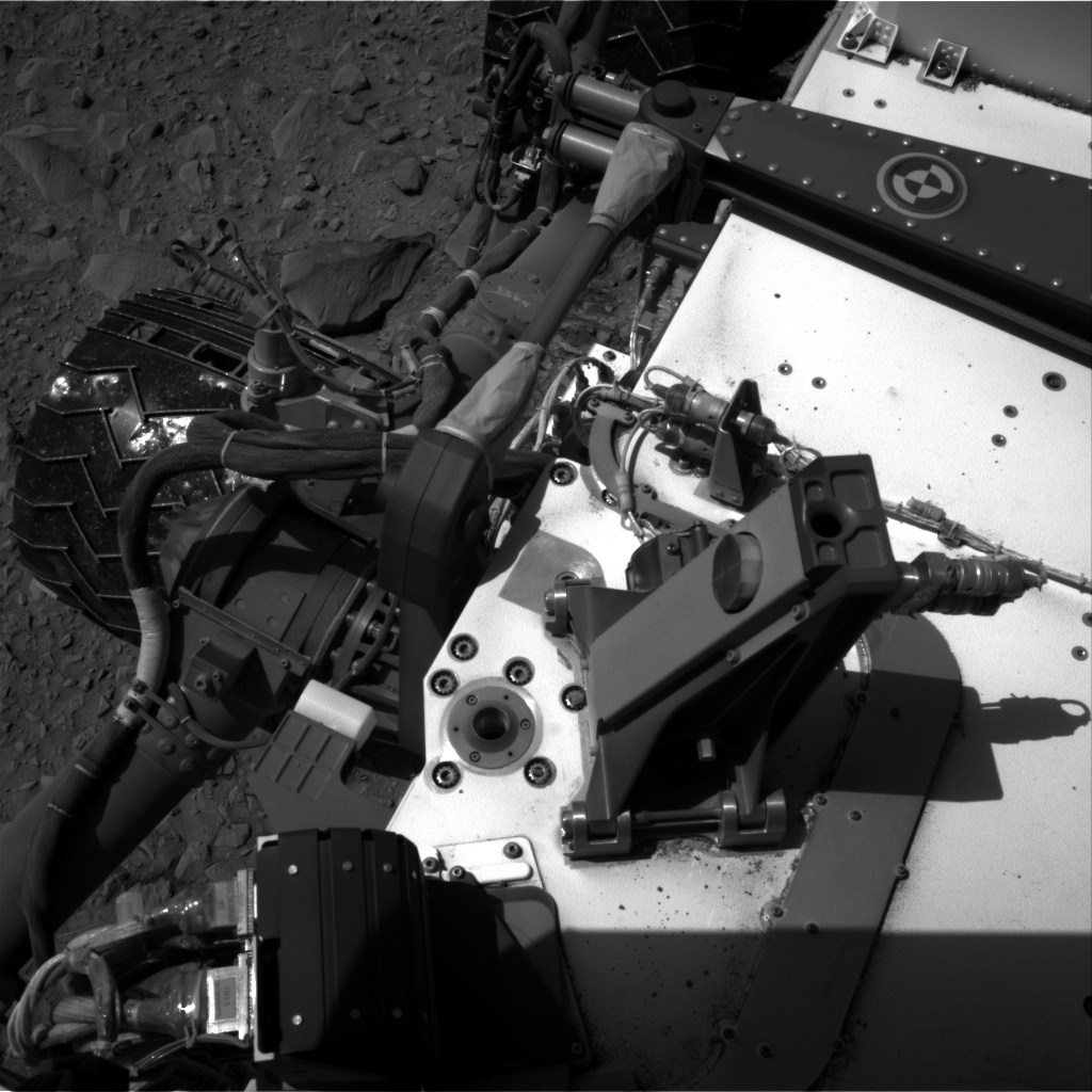 Nasa's Mars rover Curiosity acquired this image using its Right Navigation Camera on Sol 506, at drive 190, site number 25