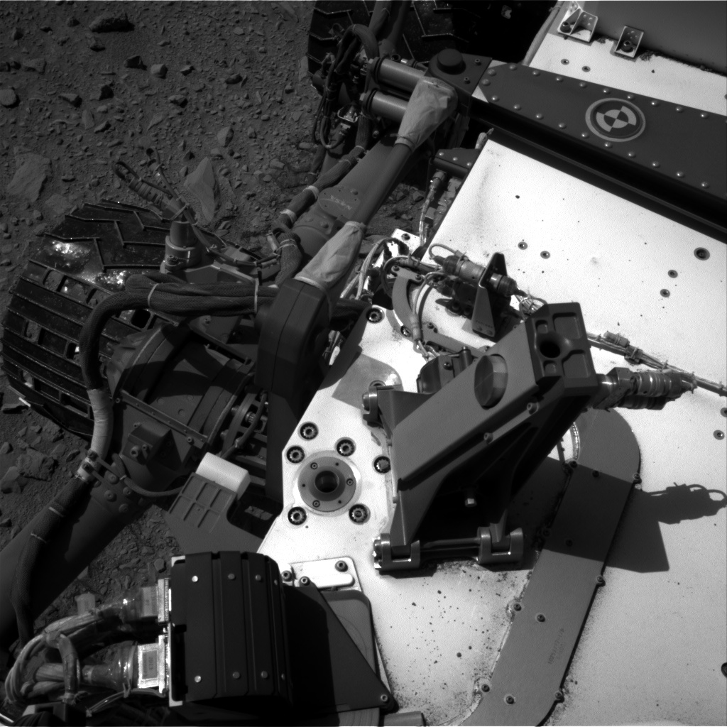 Nasa's Mars rover Curiosity acquired this image using its Right Navigation Camera on Sol 506, at drive 208, site number 25