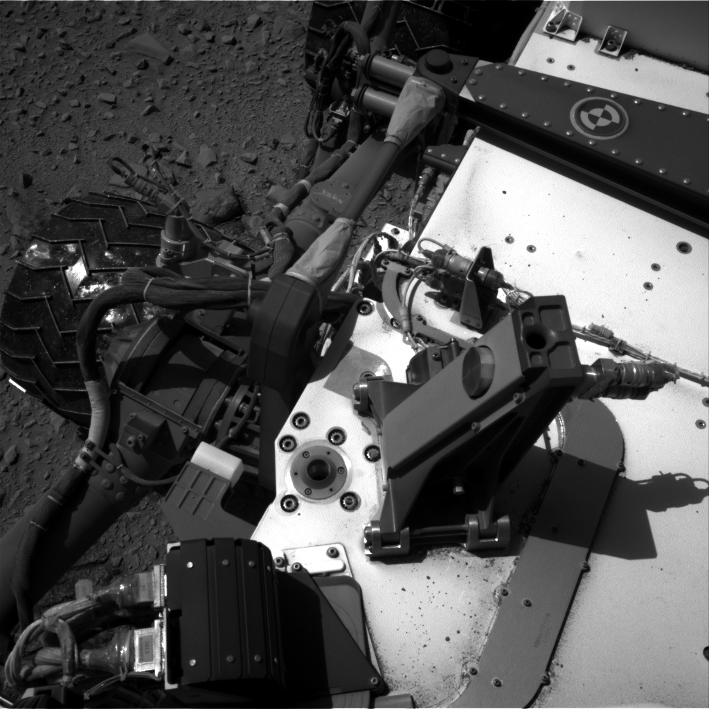 Nasa's Mars rover Curiosity acquired this image using its Right Navigation Camera on Sol 506, at drive 214, site number 25