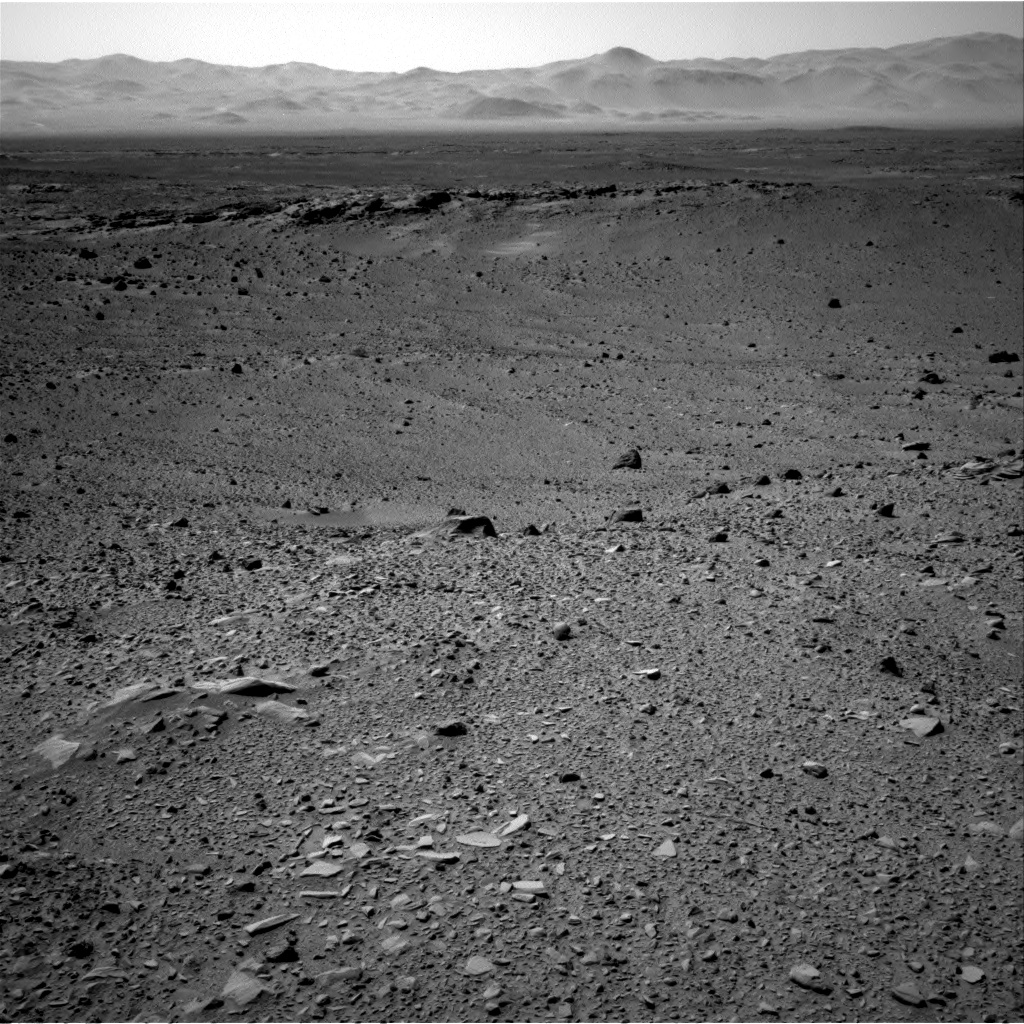Nasa's Mars rover Curiosity acquired this image using its Right Navigation Camera on Sol 506, at drive 242, site number 25