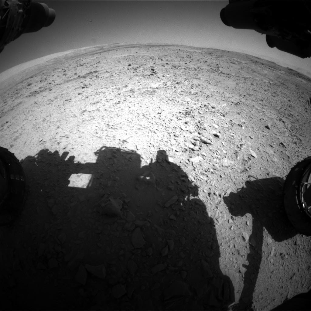 Nasa's Mars rover Curiosity acquired this image using its Front Hazard Avoidance Camera (Front Hazcam) on Sol 508, at drive 272, site number 25
