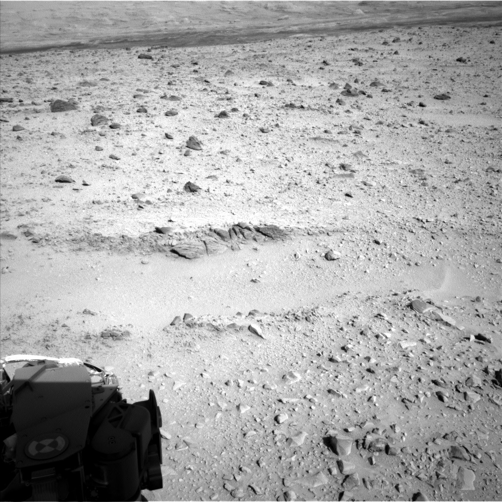 NASA's Mars rover Curiosity acquired this image using its Left Navigation Camera (Navcams) on Sol 508