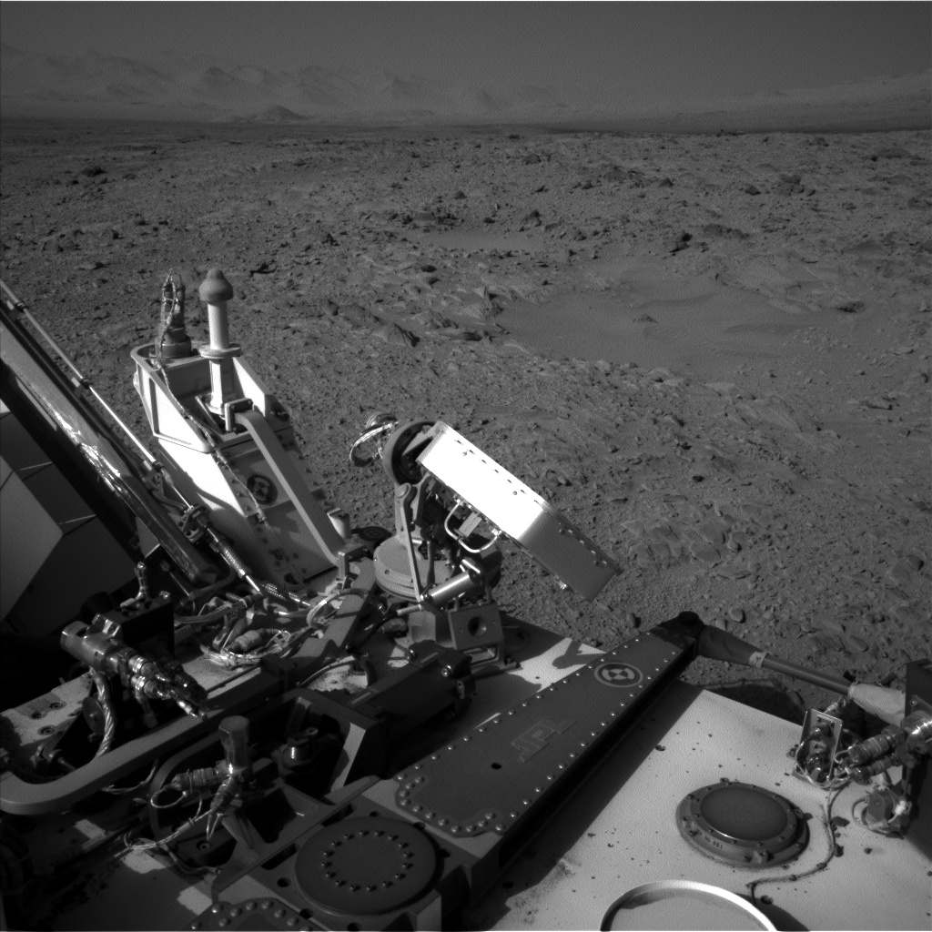 Nasa's Mars rover Curiosity acquired this image using its Left Navigation Camera on Sol 508, at drive 312, site number 25