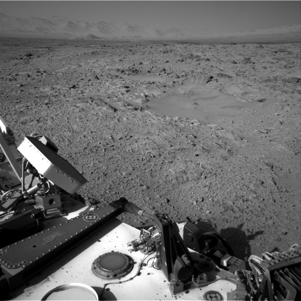 NASA's Mars rover Curiosity acquired this image using its Right Navigation Cameras (Navcams) on Sol 508
