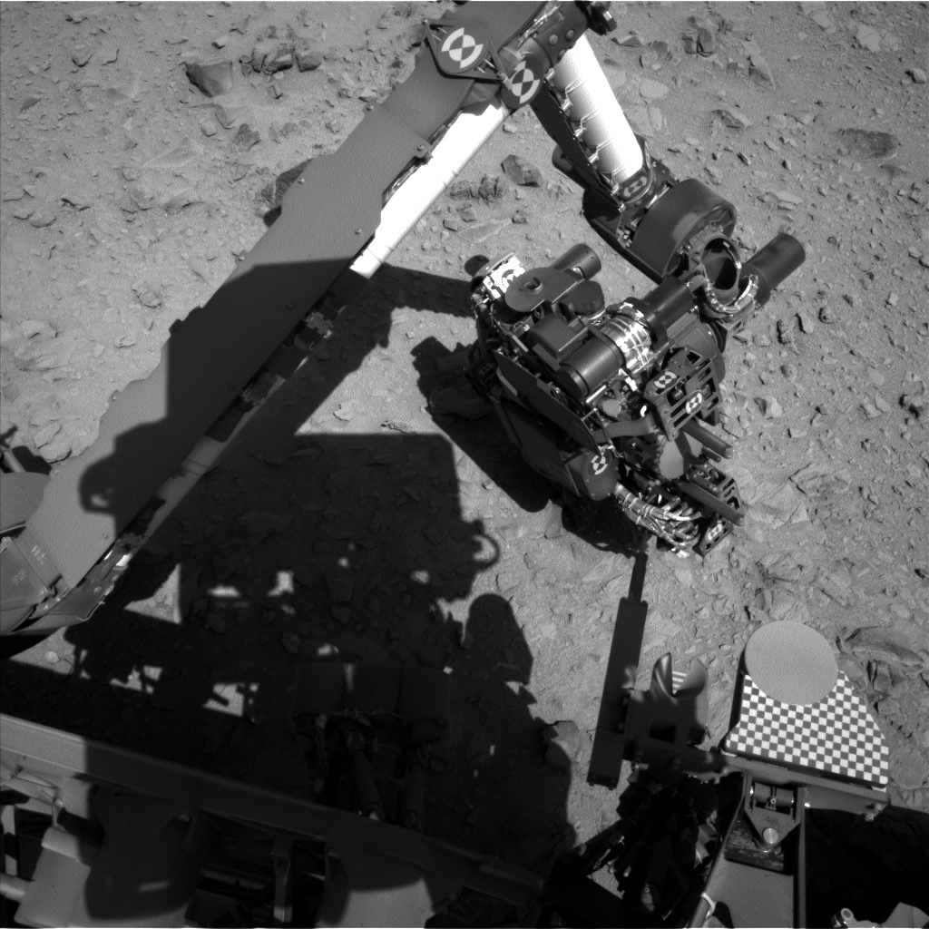 NASA's Mars rover Curiosity acquired this image using its Left Navigation Camera (Navcams) on Sol 510