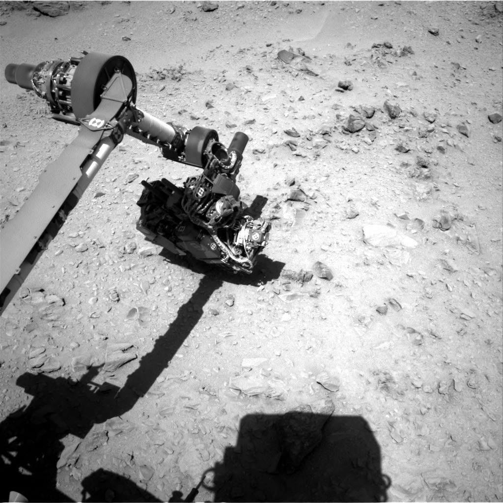 NASA's Mars rover Curiosity acquired this image using its Right Navigation Cameras (Navcams) on Sol 510