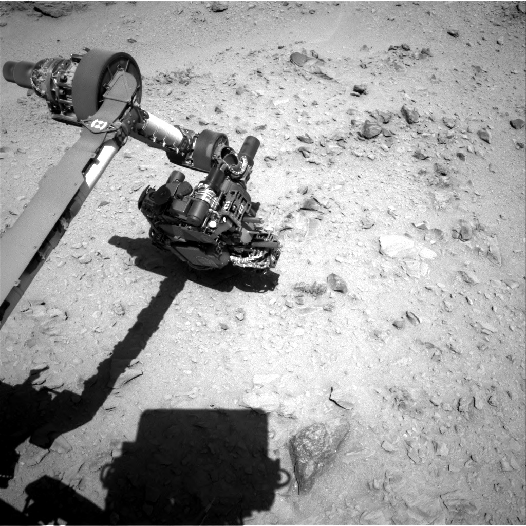 Nasa's Mars rover Curiosity acquired this image using its Right Navigation Camera on Sol 510, at drive 312, site number 25