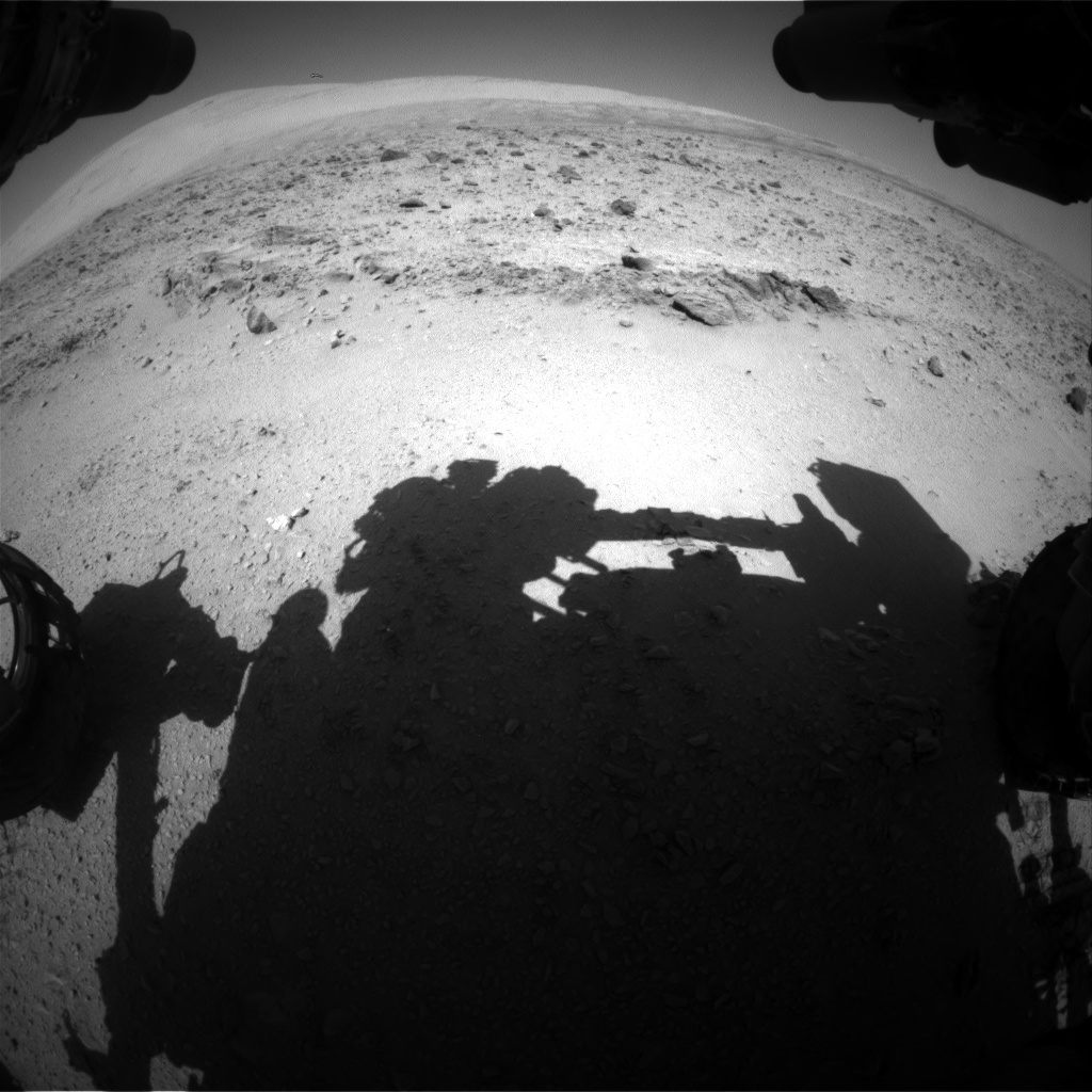Nasa's Mars rover Curiosity acquired this image using its Front Hazard Avoidance Camera (Front Hazcam) on Sol 511, at drive 360, site number 25