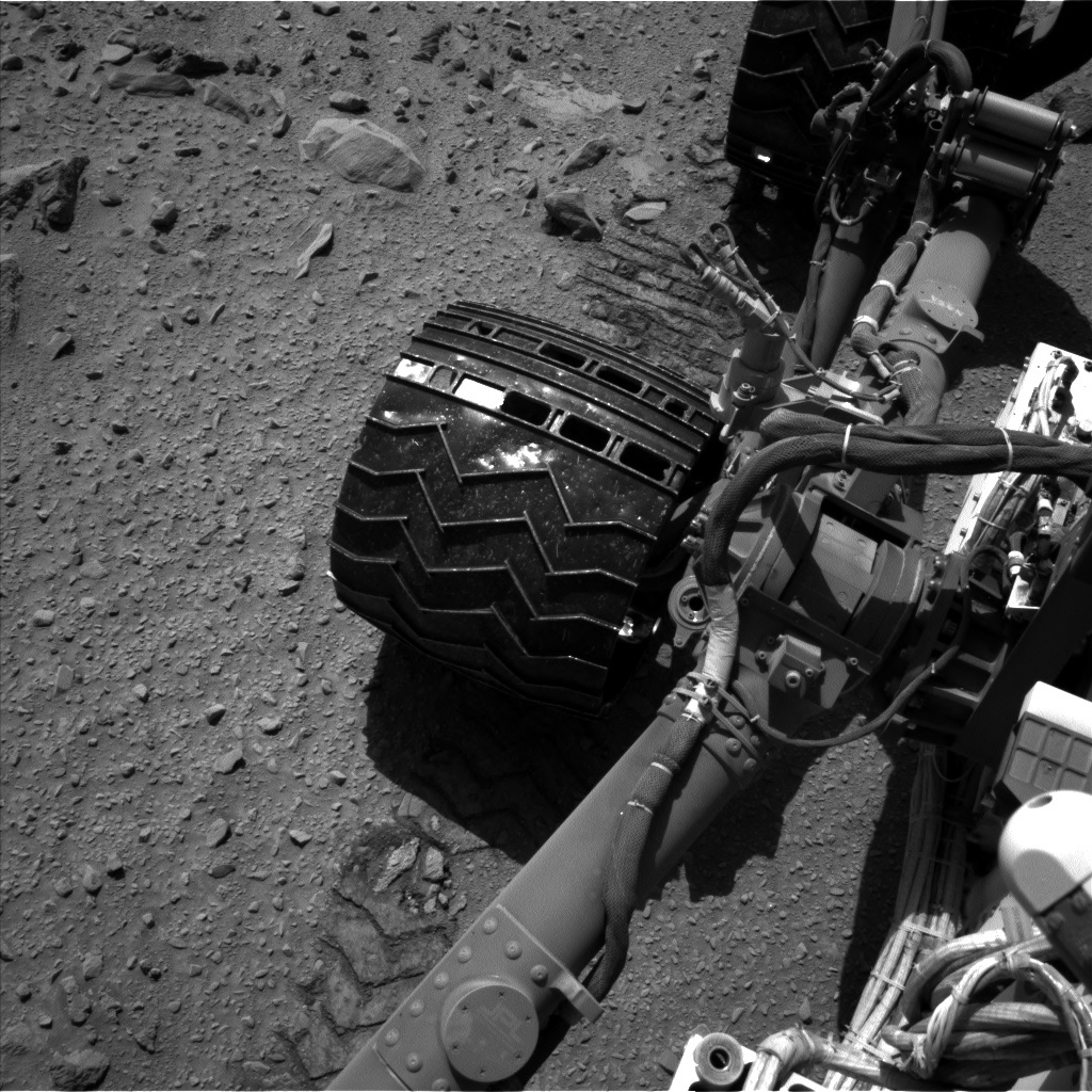 NASA's Mars rover Curiosity acquired this image using its Left Navigation Camera (Navcams) on Sol 511