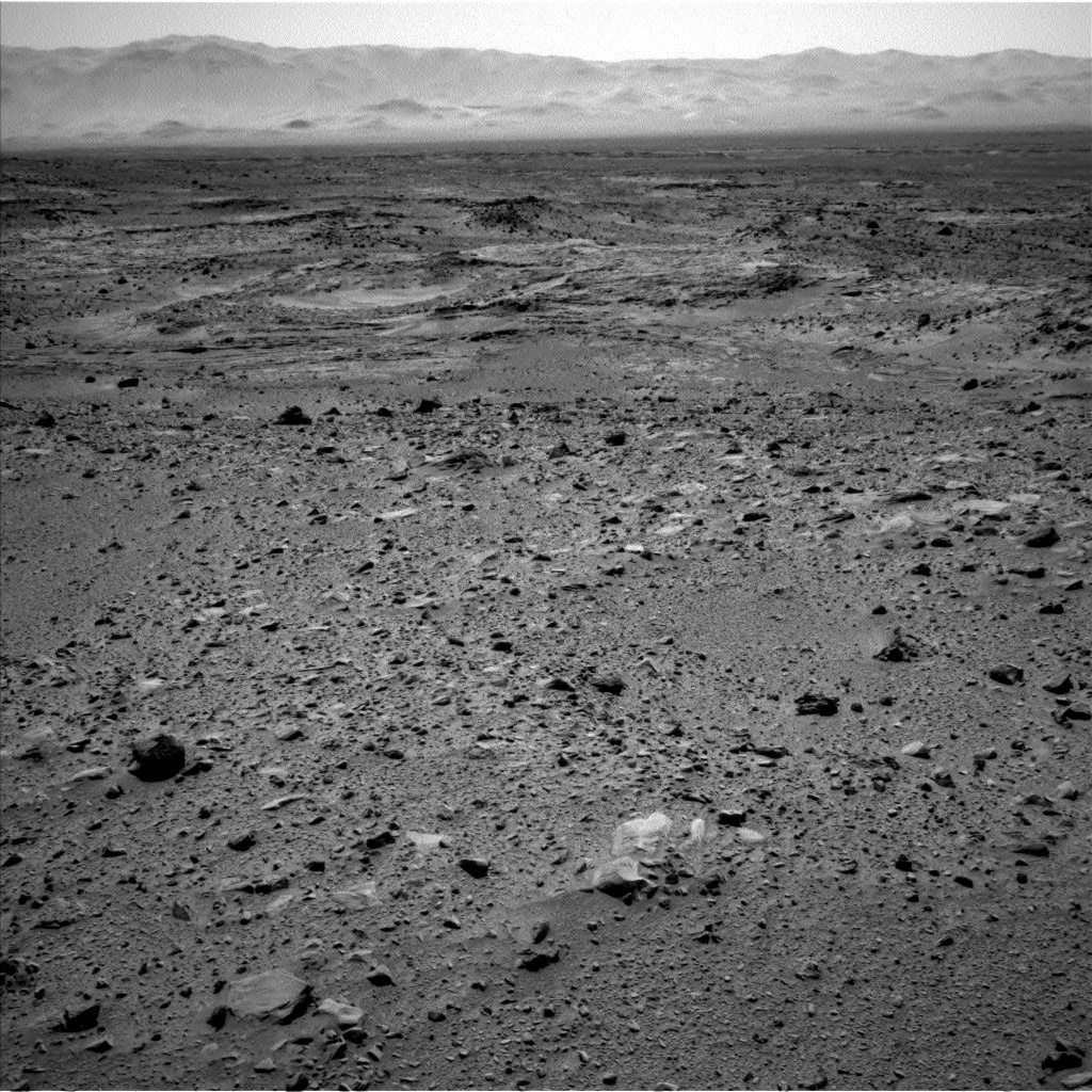 Nasa's Mars rover Curiosity acquired this image using its Left Navigation Camera on Sol 511, at drive 510, site number 25