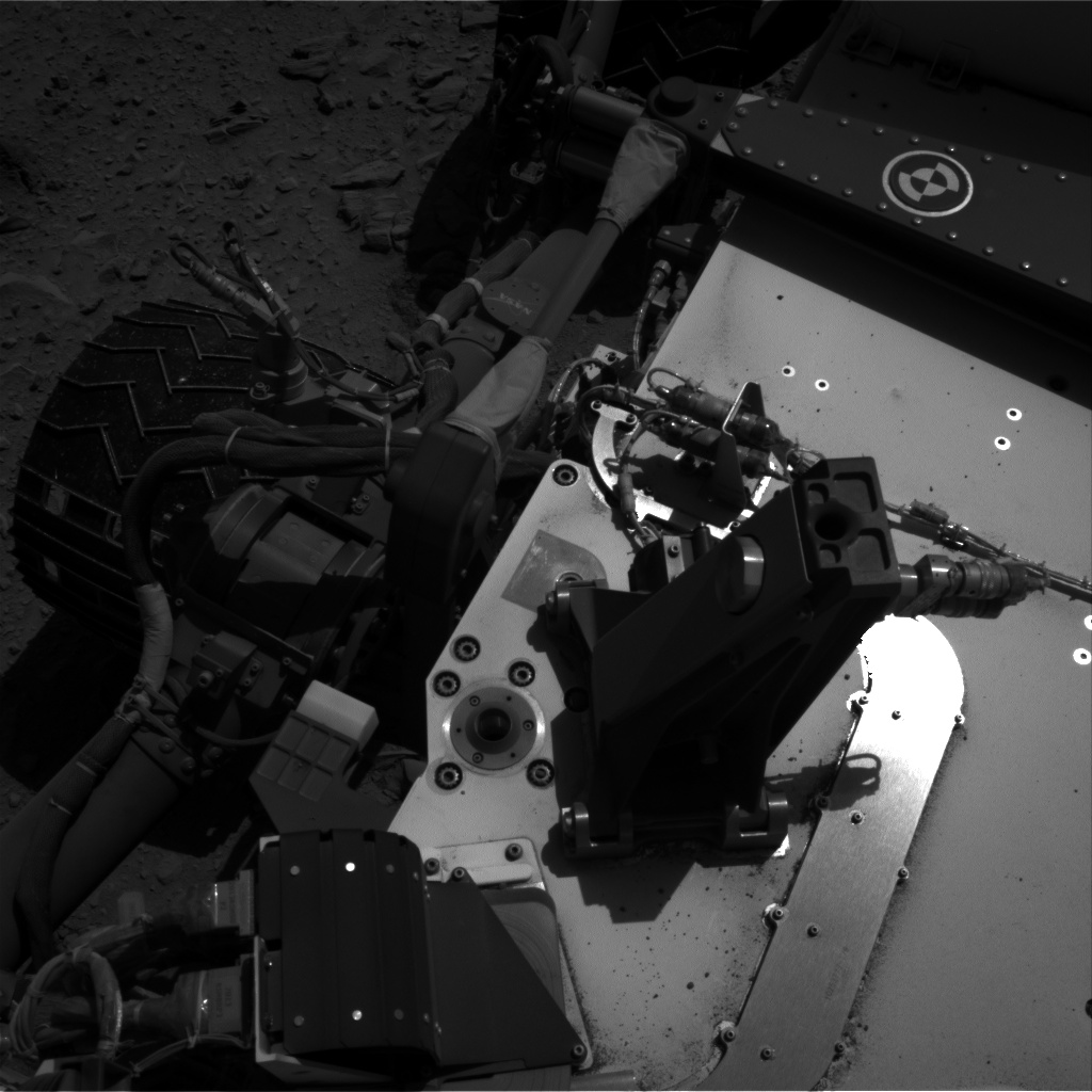 Nasa's Mars rover Curiosity acquired this image using its Right Navigation Camera on Sol 511, at drive 360, site number 25