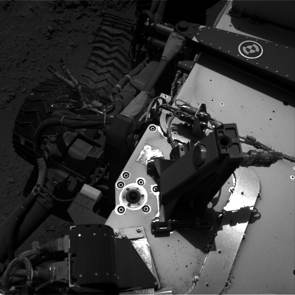 Nasa's Mars rover Curiosity acquired this image using its Right Navigation Camera on Sol 511, at drive 384, site number 25