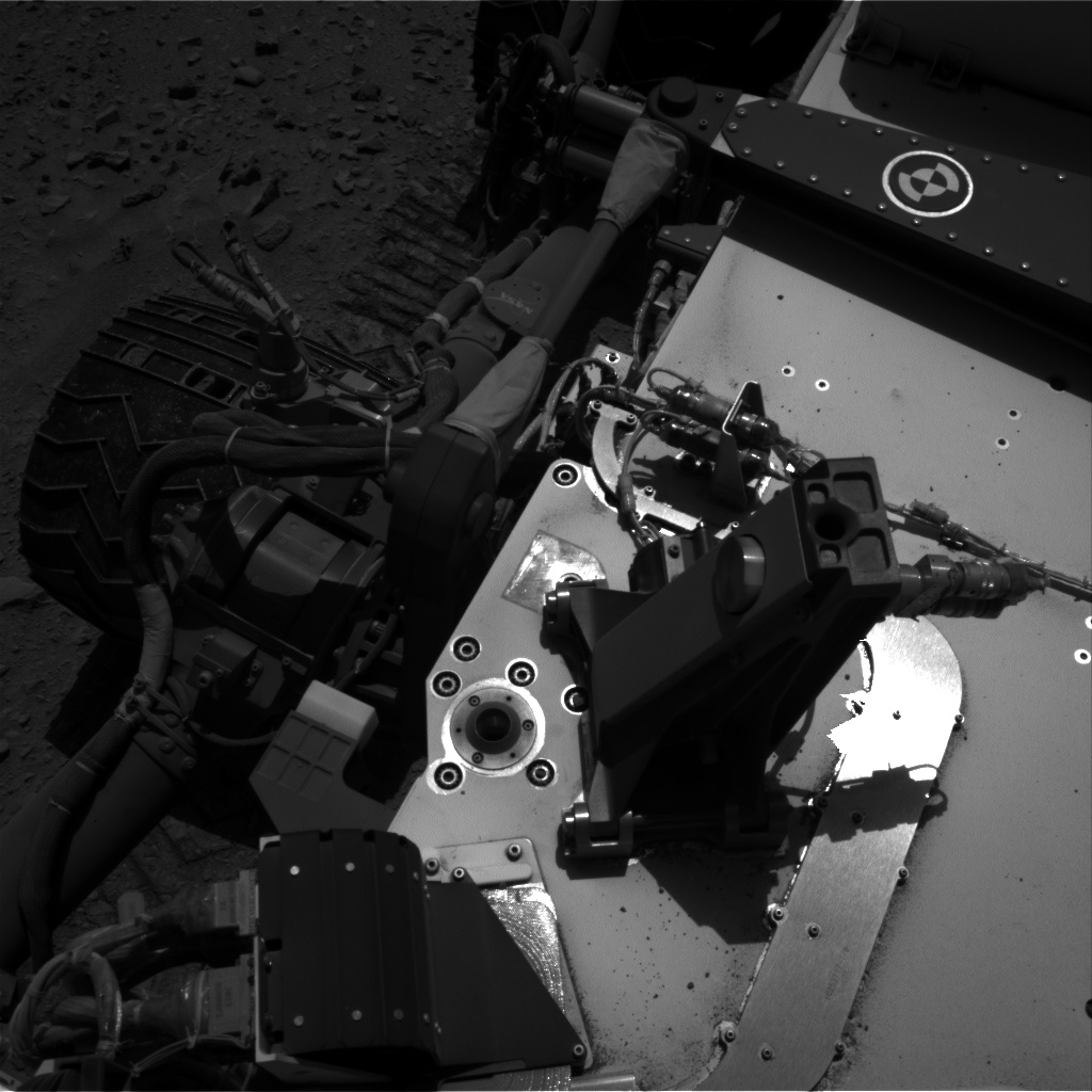Nasa's Mars rover Curiosity acquired this image using its Right Navigation Camera on Sol 511, at drive 402, site number 25