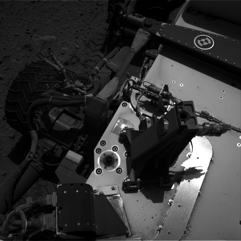 Nasa's Mars rover Curiosity acquired this image using its Right Navigation Camera on Sol 511, at drive 426, site number 25